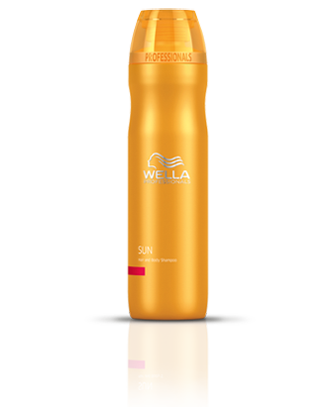 Wella Sun Hair and Body Shampoo