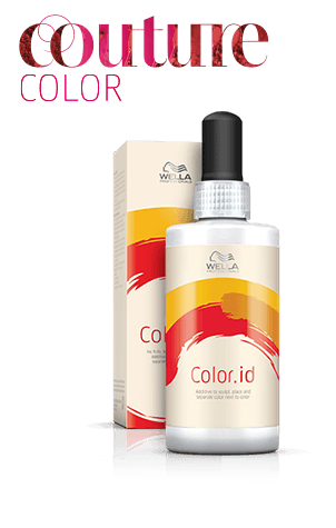 how to use wella color id