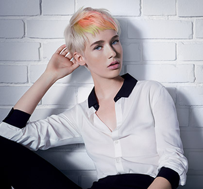 Wella Magma Creative Simplicity hair look